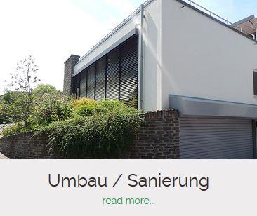 Umbau und Sanierung Bauunternehmen Becker Saarburg