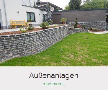 Aussenanlagen Bauunternehmen Becker Saarburg