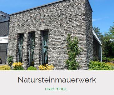 Natursteinmauerwerk Bauunternehmen Becker Saarburg
